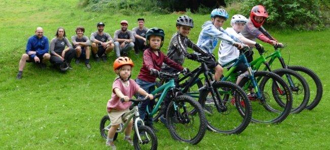 Am Zschopauer Skihang würden die Mountainbiker des Shred-Erz-Vereins, zu denen auch viele Kinder und Jugendliche gehören, gern eine Dualslalom-Strecke herrichten.