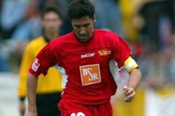 Auch für den 1. FC Union Berlin ist Sixten Veit am Ball gewesen - sogar als Kapitän.