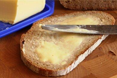 Brot und Butter dürfen beide in den Gefrierschrank.