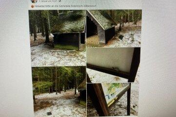 Bürgermeister René Straßberger bittet im sozialen Netzwerk Facebook, Hinweise zu den Vandalen an die Gemeindeverwaltung zu geben.