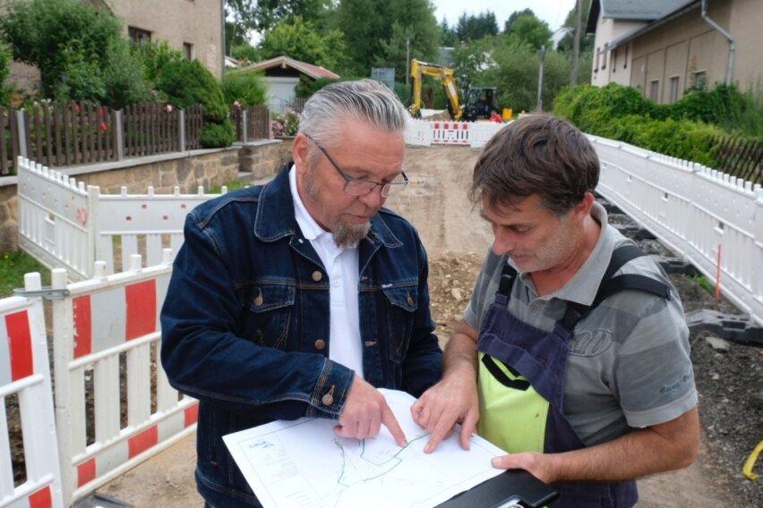 Rund um das Schweizerhaus wird gebaut