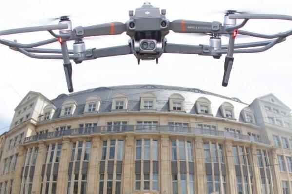 Teure Drohnenpläne des Vogtlandkreises: Kostenvergleich fehlt