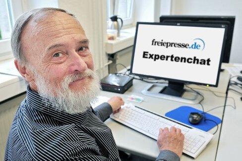 Unser Experte: Dr. Dietmar Beier, Vorsitzender der Sächsischen Impfkommission.