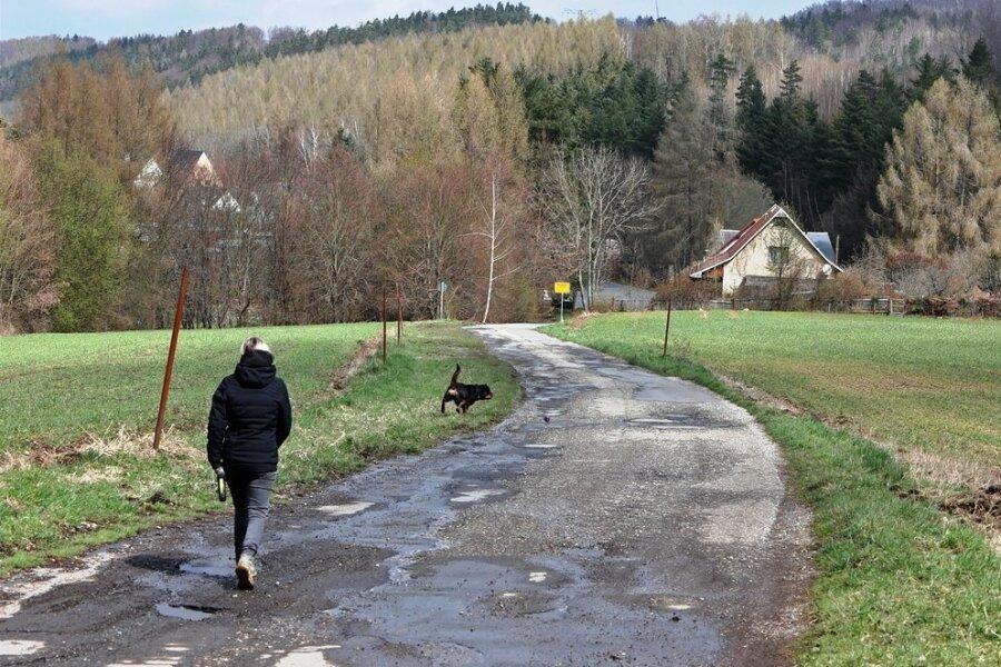 Wenn Ende Mai im Lichtensteiner Ortsteil Rödlitz das große Bauen beginnt, wird der Kärrnerweg als Umleitung und Schulweg herhalten. Gerade in den Waldbereichen gibt es vorher aber noch einiges zu tun.