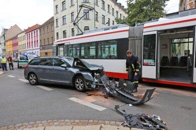 An dem Auto ist nicht mehr viel zu retten.