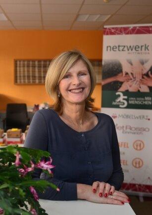 Anne Katrin Koch führt die Geschäfte des Vereins Netzwerk Mittweida.
