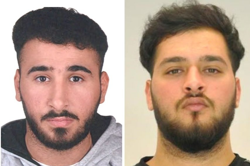 Nach ihnen wird gefahndet: Abdul Majed Remmo (l.) und Mohamed Remmo.
