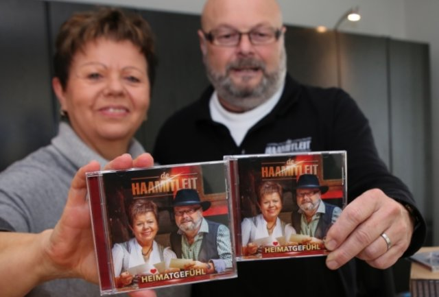 De Haamitleit - Petra Hinkel aus Pockau-Lengefeld und Tino Wagner aus Stollberg - haben ihre neue CD fertiggestellt.