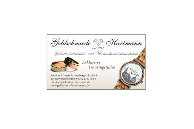 Anzeige: Goldschmiede Hartmann