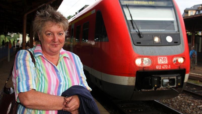 Für Annerose Aurich barg die gestrige Fahrt nach Dresden einige Ungewissheiten - wie es mit ihrer Behandlung weitergeht und ob sie auf den Kosten für die Fahrt sitzen bleibt.