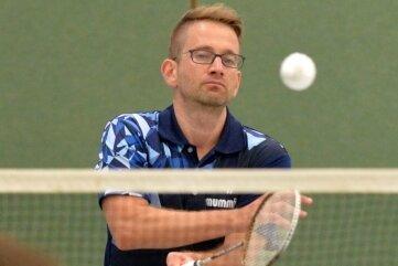 Konzentriert: das ATSV-Team um Michael Prinz will in der Sachsenklasse ganz vorn mitspielen.