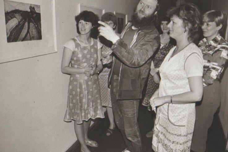Der Künstler besuchte zu DDR-Zeiten oft den Betrieb.