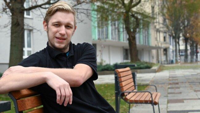 Anfangs habe er sich gefragt, ob er die Abschlussprüfungen je schaffen wird. Nun hat Marcel Klenzmann bei seiner Ausbildung in Mittweida ein Spitzenergebnis erzielt und eine Anstellung in Chemnitz gefunden.