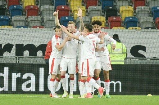 Fortuna Düsseldorf feierte im Testspiel ein Schützenfest