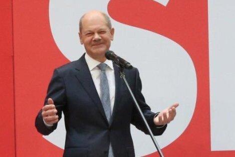 Liveticker zur Bundestagswahl: SPD, Grüne und FDP haben laut Scholz «sichtbaren Auftrag»