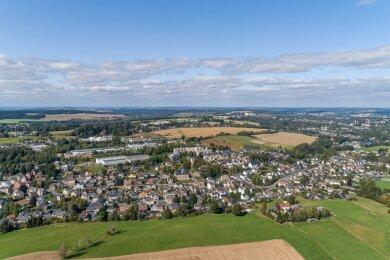 Blick über die Gemeinde Ellefeld: Zuletzt war die Harmonie im Ort getrübt.