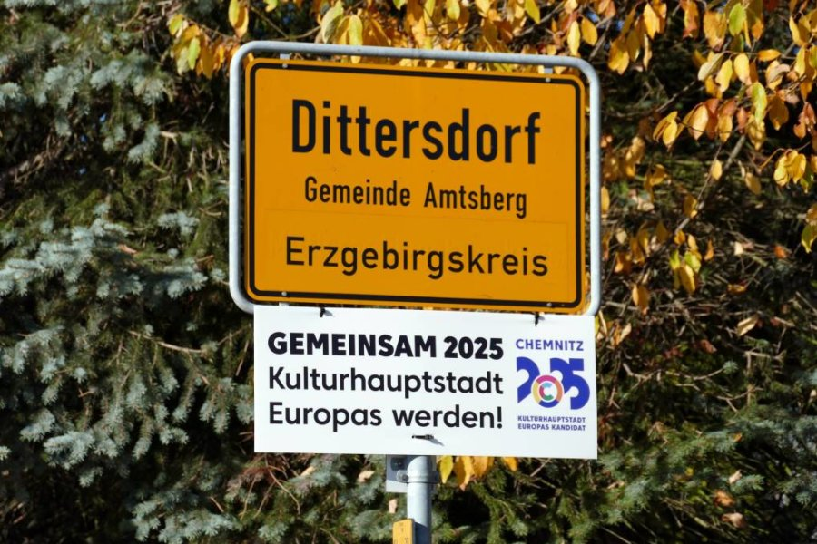 An den Gemeindestraßen ist das Schild noch zu finden.