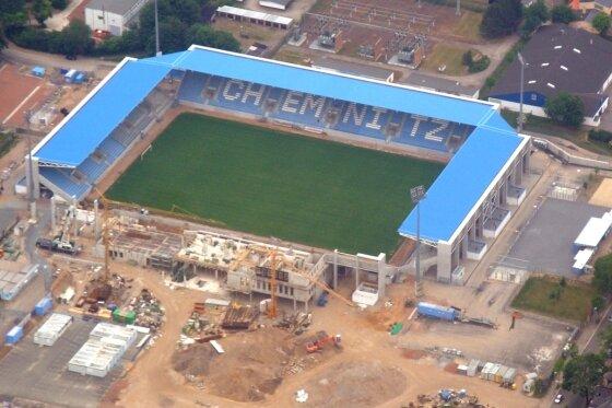 CFC-Stadion vor kommenden Top-Spielen um knapp 2500 Sitzplätze erweitert
