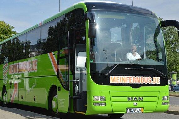 Marktführer Mein Fernbus betreibt unter anderem dieLinie Chemnitz-Berlin.