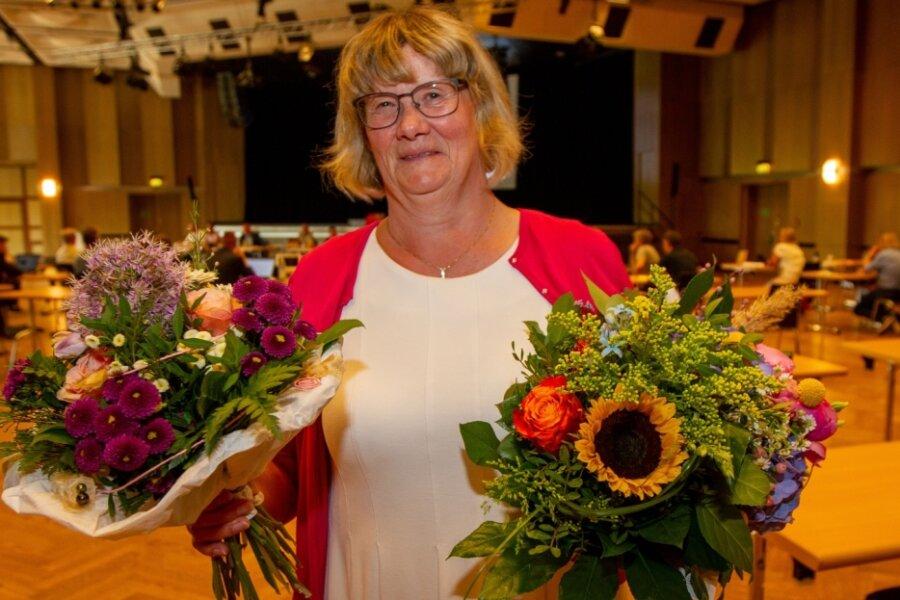 Die langjährige Straßenbahnchefin Barbara Zeuner wurde am Dienstag in den Ruhestand verabschiedet.