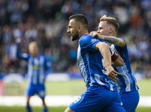 Ibisevic stand mit Hertha kurzzeitig auf Platz eins