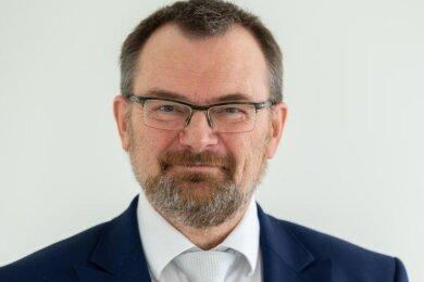 Klaus-Peter Hansen, Vorsitzender der Bundesagentur für Arbeit Sachsen.