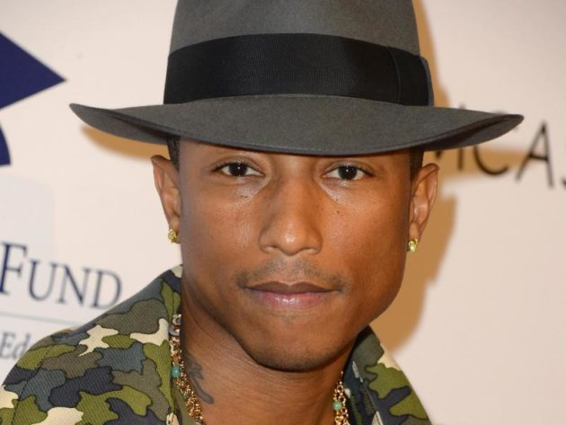 Pharrell Williams sagt, er verehre Marvin Gaye.