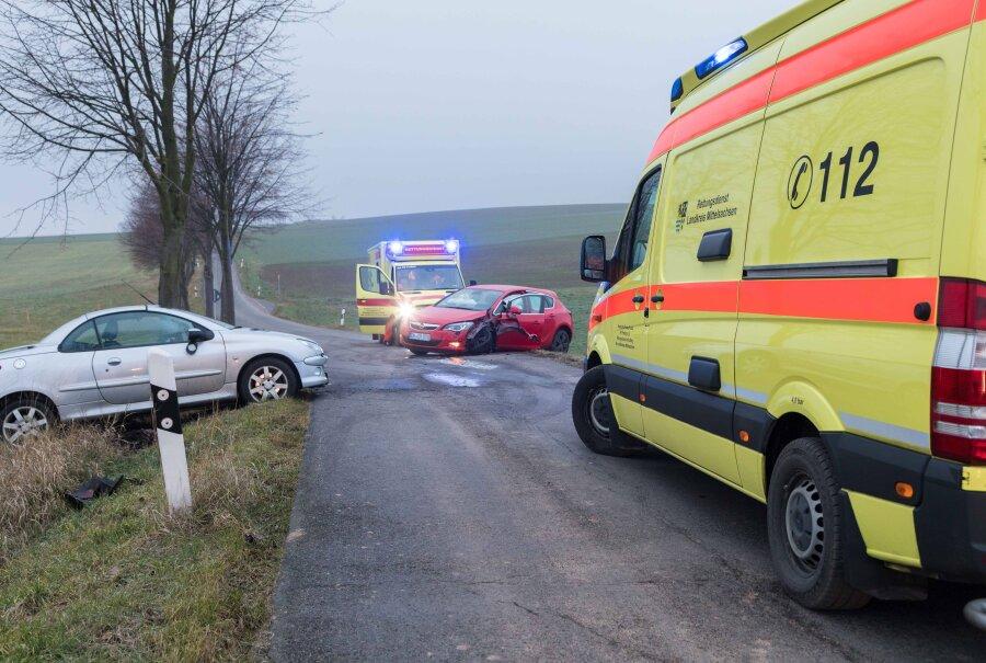 Schwerer Unfall in Naundorf
