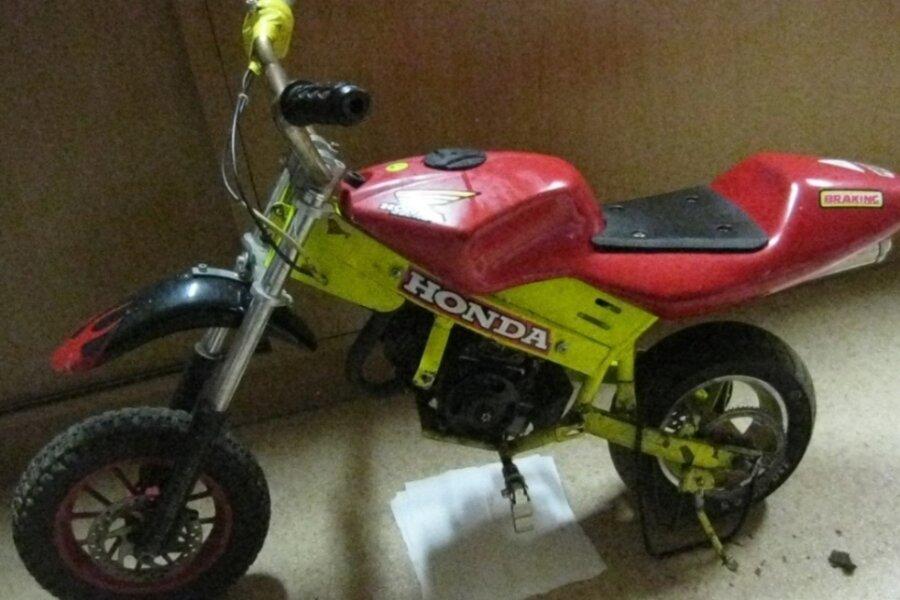 Besitzer von Miniaturmotorrad gesucht