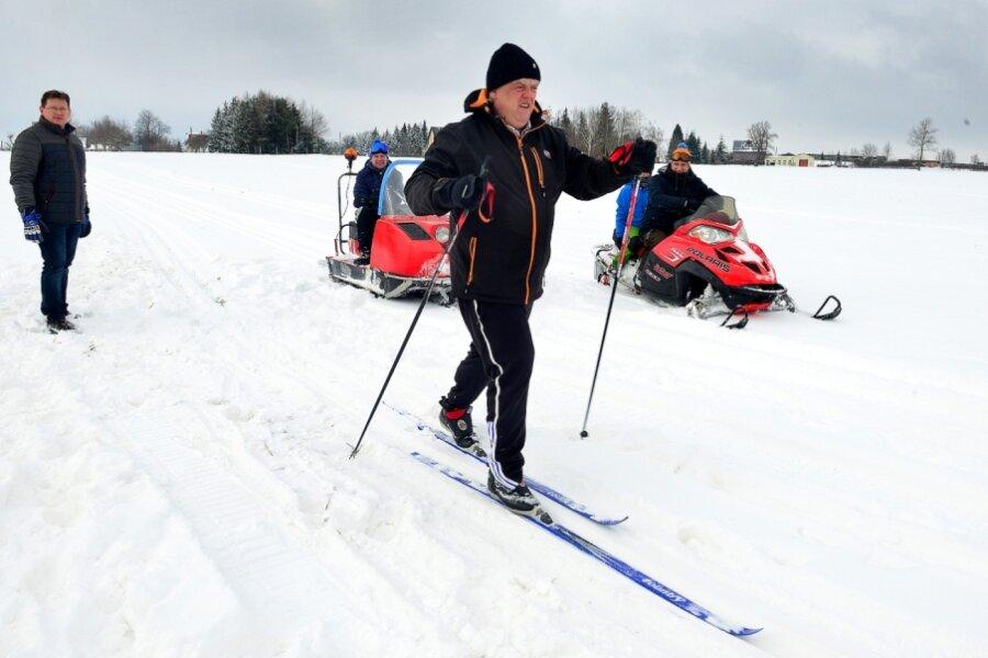 Hainichen wird Wintersportort
