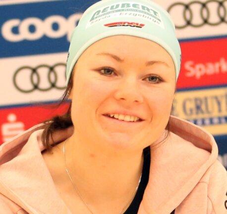 Nach der WM ist vor Olympia: Anne Winkler vom SSV Sayda hat sich erneut große Ziele gesetzt.