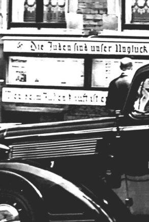 Stürmerkasten in Falkenstein an der Goethestraße 16.