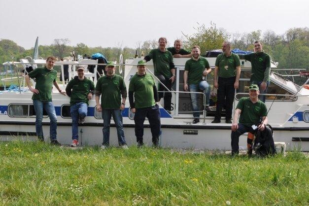 Steht als ein Glanzpunkt im Logbuch der Erzgebirgsmarine Antonshöhe: 2014 wurde auf der zehnten Tour der Truppe mit einem gemieteten großen Hausboot der Rhein-Marne-Kanal in Frankreich befahren.
