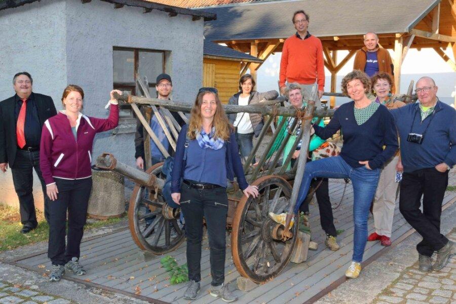 """Die Teilnehmer des Projektes """"Akademie Land-Partie"""" haben am Mittwochabend im Deutschen Landwirtschaftsmuseum Schloss Blankenhain Station gemacht."""