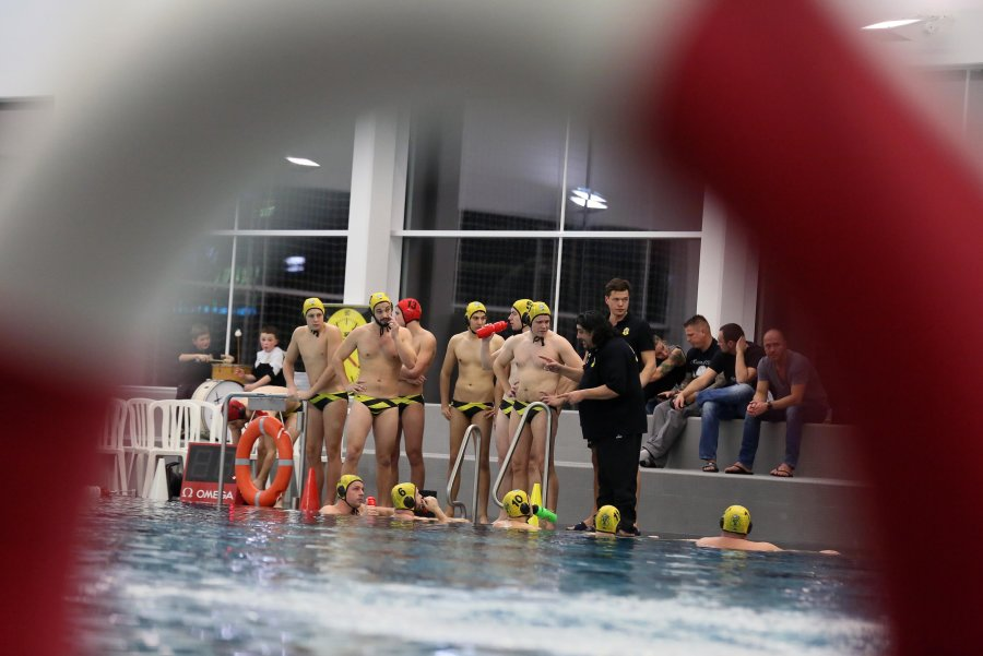 Sieg in der Glück-Auf-Schwimmhalle für die Zweitliga-Wasserballer des SV Zwickau 04.