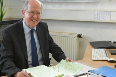 Andreas Müller war jahrelang für die Finanzen im Landkreis Freiberg/Mittelsachsen verantwortlich.