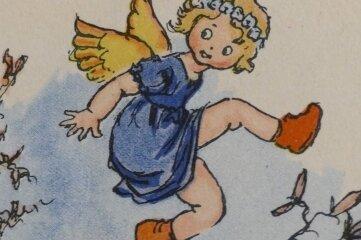 """Dieser Engel """"Firliputzli"""" diente Georg Beyer einst als Inspiration."""