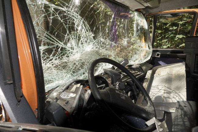 In Penig hat sich am Mittwoch gegen 13 Uhr ein Unfall ereignet.