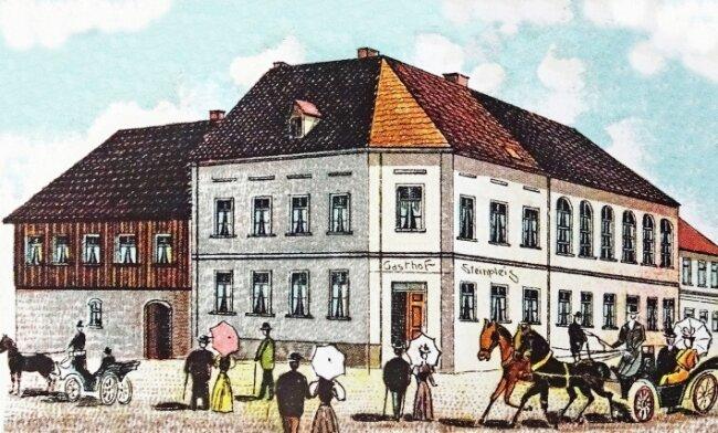 Ansichtskarte von 1903.