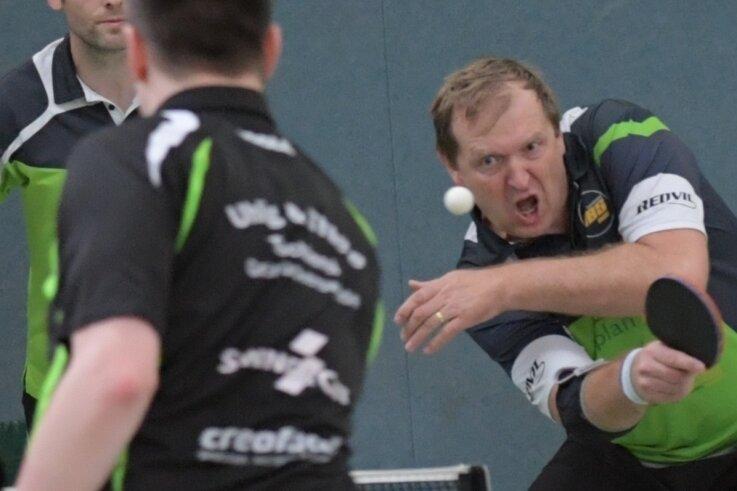 Die Auer Dominic Sommer (l.) und Michal Sklenar (r.) steuerten beim Saisonauftakt den einzigen Doppel-Erfolg bei.