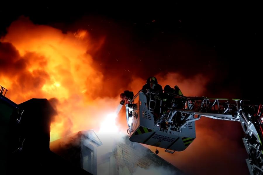 Zwei Tote bei Hausbrand in Reichenbach