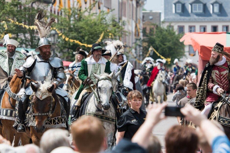 Der Fürstentag zu Rochlitz und Seelitz, hier ein Bild zur dritten Auflage 2018, ist im Juni ein erster Höhepunkt im Miskus-Kalender für 2022.