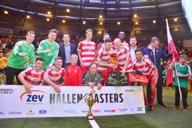 FSV Zwickau gewinnt Hallenmasters