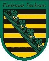 Wappen des Freistaates Sachsen