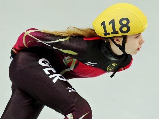 Anna Seidel belegte über 500 Meter Platz zwölf