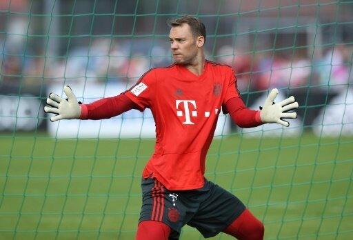 Neuer sieht fünf Hauptkonkurrenten für die Bayern