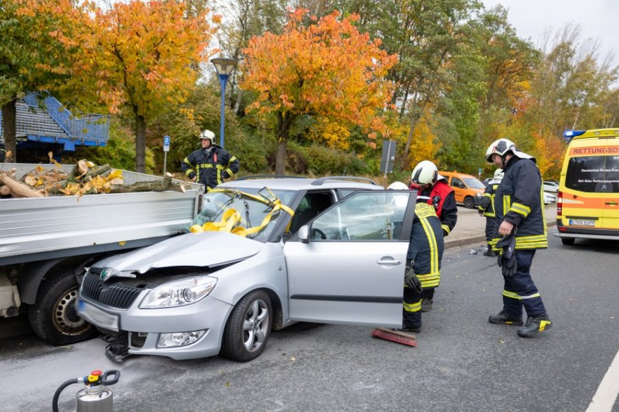 79-Jähriger bei Unfall in Auerbach schwer verletzt