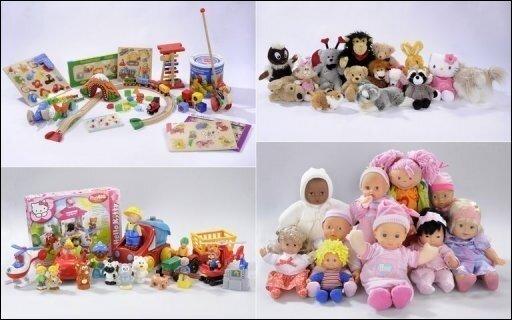 Alarm im Kinderzimmer: Bei der Untersuchung von Plüschtieren, Puppen und Holzspielzeugen fand die Stiftung Warentest in mehr als 80 Prozent der Fälle gesundheitsgefährdende Schadstoffe.