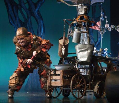 """Die Weihnachtsmärchen des Theaters Plauen-Zwickau - im Foto die Inszenierung """"Rumpelstilzchen"""" - erfreuen sich alljährlich großer Beliebtheit und sind meist ausverkauft. Diesmal muss es jedoch gestrichen werden."""