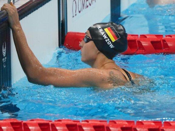 Holte kurz nach Taliso Engel am Mittwoch das zweite deutsche Para-Schwimmgold in Tokio: Elena Krawzow.
